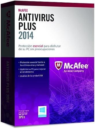 McAfee AntiVirus Plus 2014 - Paquete De Suscripción