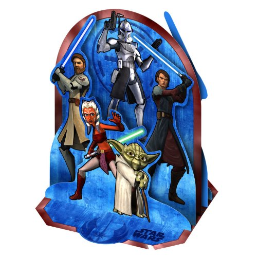 Star Wars 'The Clone Wars' Centerpiece (1ct)