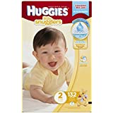 Huggies Little Snugglers Diapers, Size 2, 132 Count (Packaging May Vary)