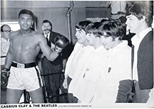 Muhammad Ali (Cassius Clay & The Beatles) Sports Poster Print