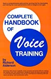 img - for By Richard Alderson Complete Handbook of Voice Training book / textbook / text book