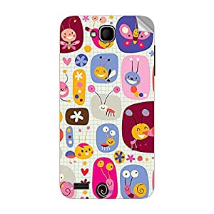 Garmor Designer Mobile Skin Sticker For XOLO Q800 - Mobile Sticker