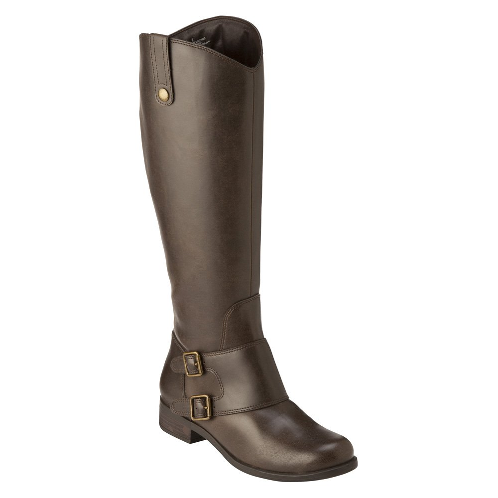 Manette Double Buckle Tall Boots