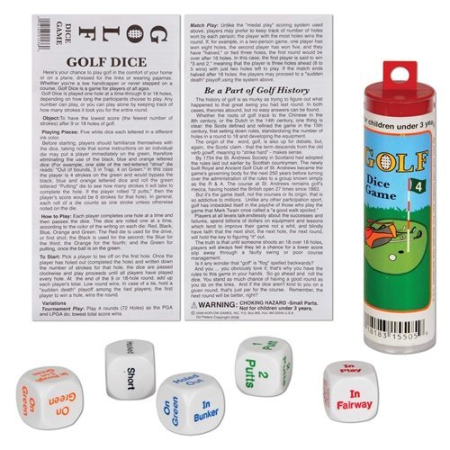 Golf Dice Game - 1