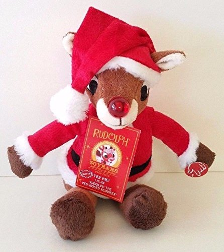 Rudolph the Red-Nosed Reindeer Abominable Snowman Musical Mini Plush - 1