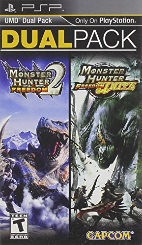 Monster Hunter Freedom 2 and Freedom Unite Dual Pack PSP - PlayStation Portable (Monster Hunters Freedom Unite compare prices)