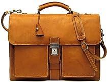 Floto Parma Edition Italian Leather Calf-Skin Briefcase