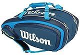 Wilson(ウイルソン) テニス ラケットバッグ ツアー・V・9パック ブルー (ラケット9本収納) WRZ843609