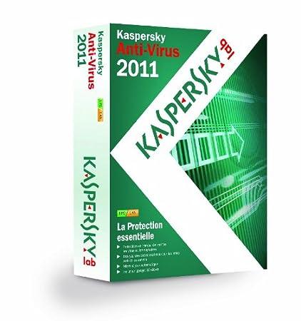 Kaspersky antivirus 2011 (1 poste , 1 an)