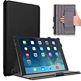 MoKo Slim-Fit Multi-angle Folio Cover Case for iPad Air 2