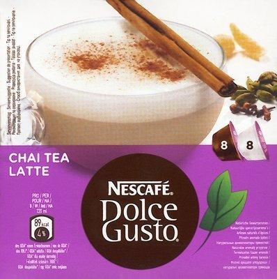 Nescafe Dolce Gusto Chai Tea Latte 8 Each Tea And Milk Capsules front-608971