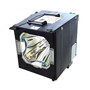Electrified BQC-XVZ100005 Replacement Lamp with Housing for Sharp Projectors