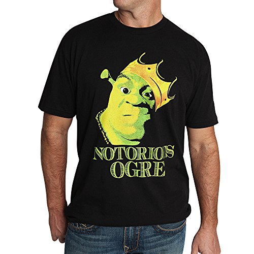 Muze Clothing Men's Shrek Notorious Ogre Crewneck T-shirt
