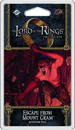 Lord of the Rings LCG: Escape from Mount Gram Adventure Pack Card Game