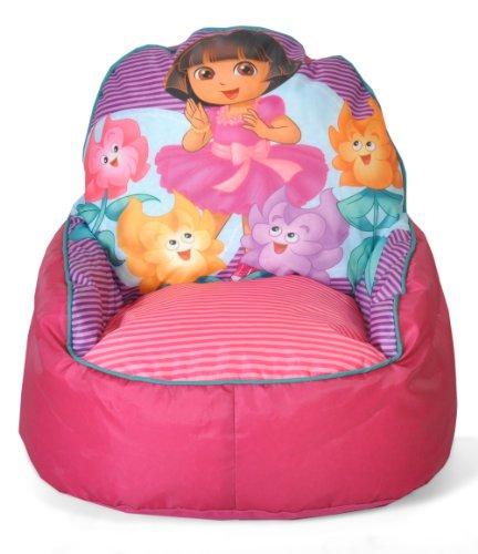 Nickelodeon Dora The Explorer Toddler Bean Bag Sofa Chair front-1021608