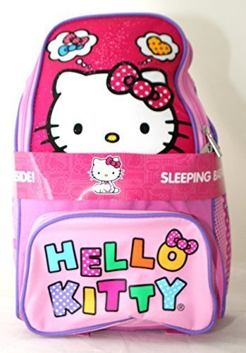 Hello Kitty 2 Piece Backpack with Sleeping Bag - 2014 Design