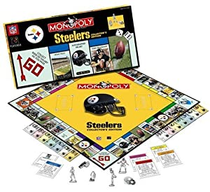 Pittsburgh Steelers Monopoly Game