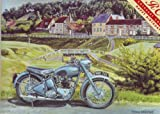 Triumph Thunderbird at Rest (greetings card)
