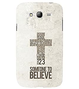 PRINTSWAG TYPOGRAPHY Designer Back Cover Case for SAMSUNG GALAXY GRAND NEO