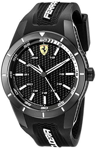 ferrari-mens-0830249-redrev-analog-display-japanese-quartz-black-watch