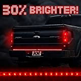 "60"" Waterproof 5-Function 92 LED Strip Tailgate Bar Brake Reverse Running Turn Signal Light Truck SUV"