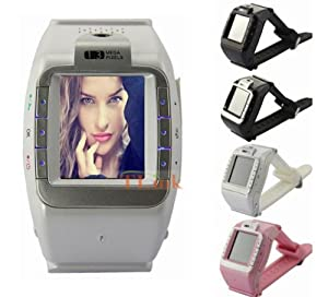 """black New N388 Unlocked 1.4"""" Touch Screen Watch Mobile Phone Adjustable Band Cell phone"""