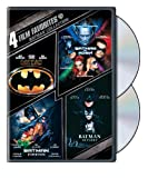 Batman Collection: Four Film Favorites (Batman / Batman Returns / Batman Forever / Batman & Robin)