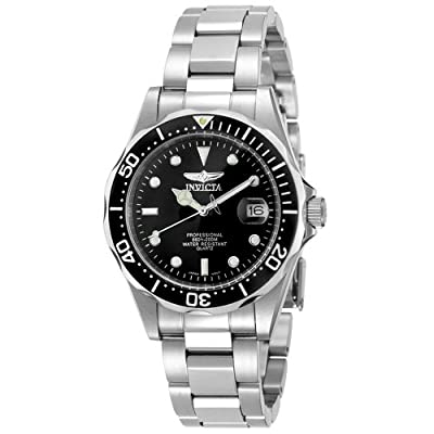 Invicta Men's 8932 Pro Diver Collection Silver-Tone Watch from Invicta