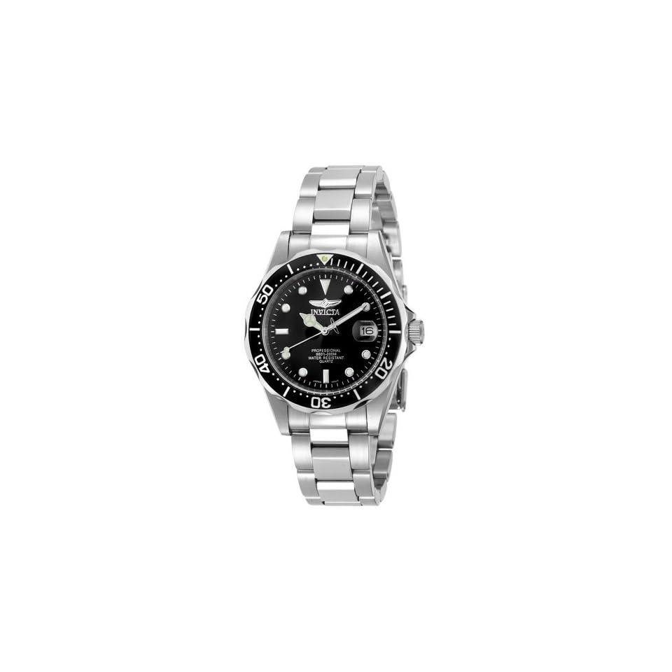 Invicta Mens 8932 Pro Diver Collection Silver Tone Watch