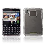 Clear Protector Case Snap On Phone Cover for Motorola Charm MB502