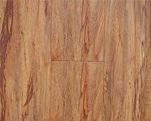 12.3 mm Durique Distressed Laminate Pecan Flooring (6 inch Sample)