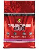 BSN TRUE-MASS 1200- Strawberry, 10.25 lb (15 Servings)