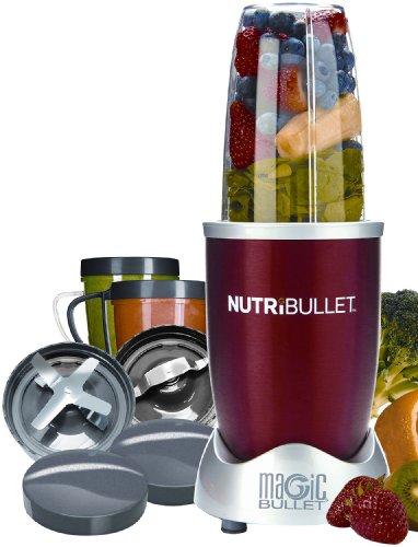 Best Prices! Nutri Bullet NBR-12 12-Piece Hi-Speed Blender/Mixer System,RED