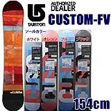 BURTON バートン 13-14 CUSTOM-FV 154cm カスタムフライングブイ BURTON 13-14 スノーボード バートン 板 2014