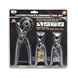 IIT 90235 Leather Punch & Grommet Tool Set
