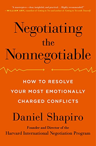 Download Negotiating the Nonnegotiable: How to Resolve Your Most Emotionally Charged Conflicts