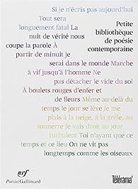 Petite bibliothèque de poésie contemporaine : Coffret en 12 volumes par Zéno Bianu