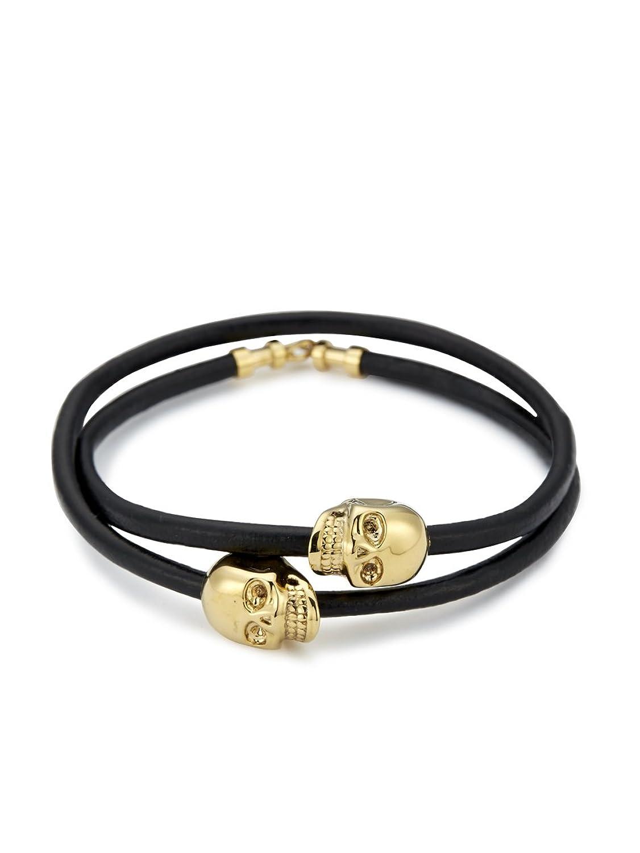 Skull Bracelet India Skull Double Wrap Bracelet