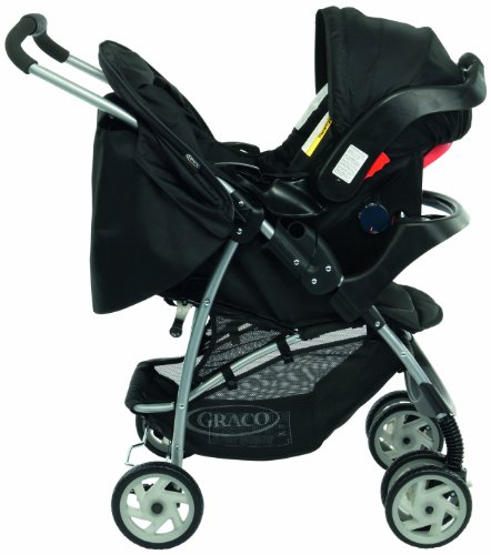 Graco Mirage Travel System (Black, 0 - 36 Months)