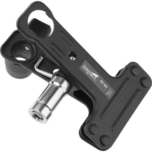 Impact small clip clamp with rubber rivet jaw hardware