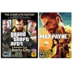 """Grand Theft Auto IV"" and ""Max Payne 3"" PC Download Bundle for $24.99"