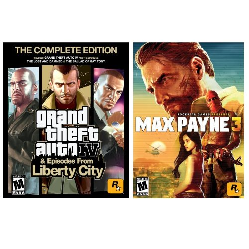 Grand Theft Auto IV and Max Payne 3 Bundle [Download]