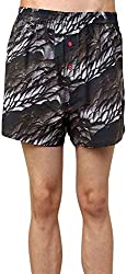Shy Guy Pleasure Wear Men's Cotton Boxer Shorts (Brown)