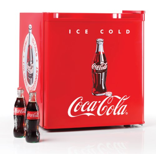 Check Out This Nostalgia Electrics Coca-Cola Series CRF170COKE 1.7 Cubic Foot Mini Fridge