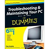 Troubleshooting and Maintaining Your PC All-in-One Desk Reference For Dummies ~ Dan Gookin