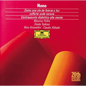 Luigi Nono: ....Sofferte onde serene....for piano and magnetic tape