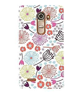 Flower Pond Art 3D Hard Polycarbonate Designer Back Case Cover for LG G4 Mini :: LG G4C