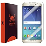 Skinomi® TechSkin [2-Pack] - Samsung Galaxy S6 Edge+ Screen Protector Premium HD Clear Film with Free Lifetime Replacement Warranty / Ultra High Definition Invisible and Anti-Bubble Crystal Shield