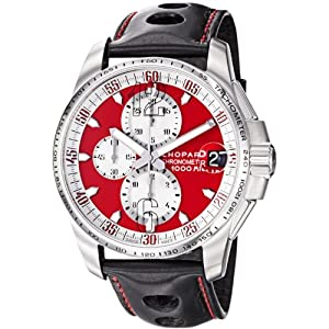 Chopard Men's 168459-3036 LBK Miglia Gran Turismo Red Chronograph Dial Watch