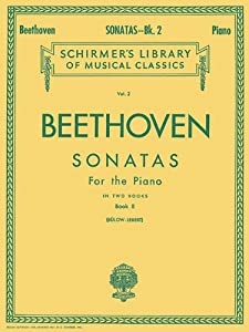 Sonatas - Book 2 Piano Solo Schirmers Library Of Musical Classics by G. Schirmer